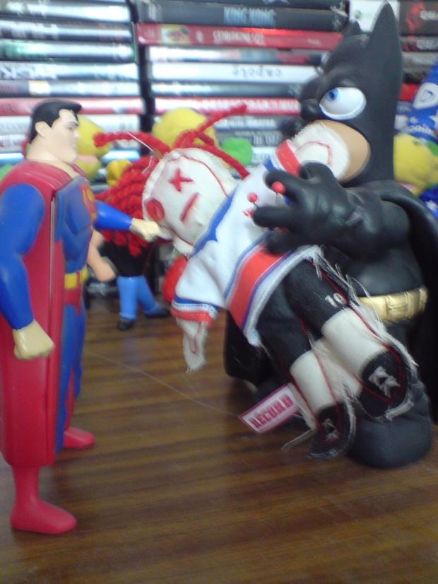 Vudu conoce a Superman