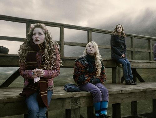Lavender, Luna & Hermione